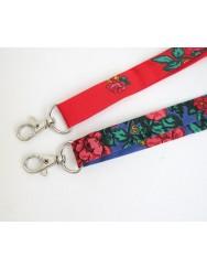 Keychain or badge holder